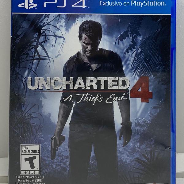 jogo uncharted 4 original