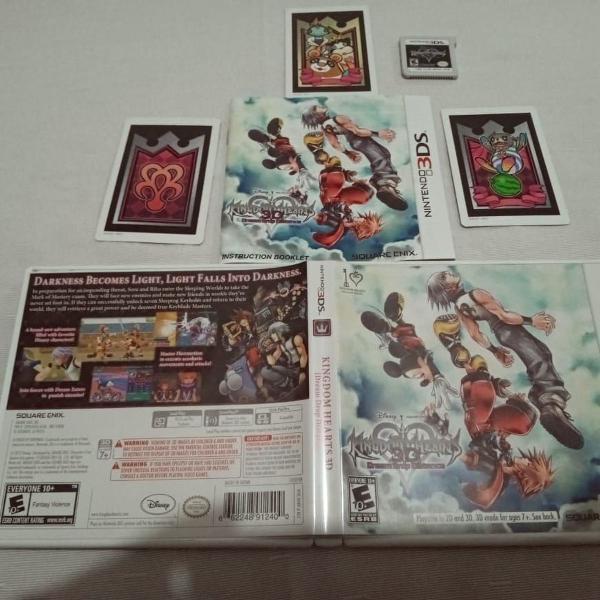 Kingdom hearts 3d: dream drop distance nintendo 3ds 25#f