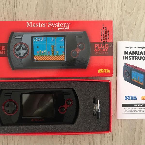 Master system portátil tectoy