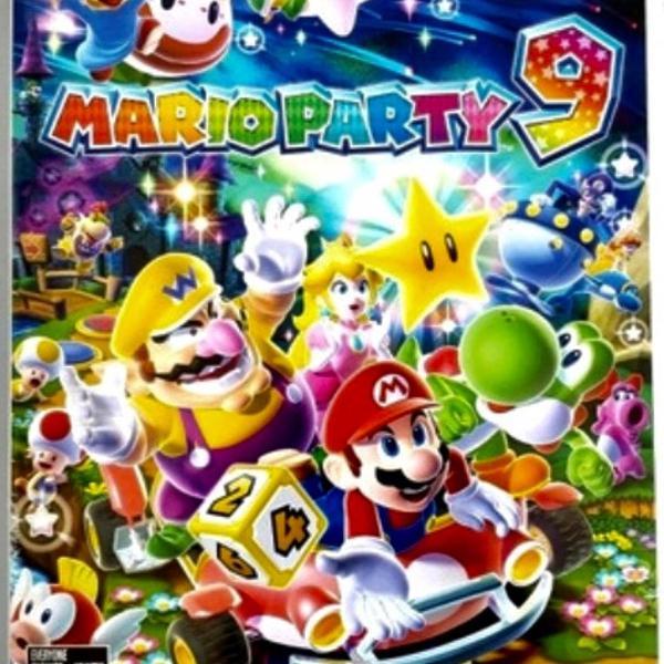 Mário party 9 original nintendo wii original