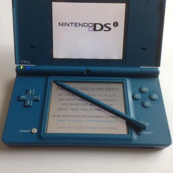 Nintendo dsi azul - com case