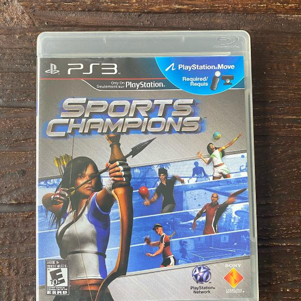 Pacote jogos heroes e sports champions para ps3