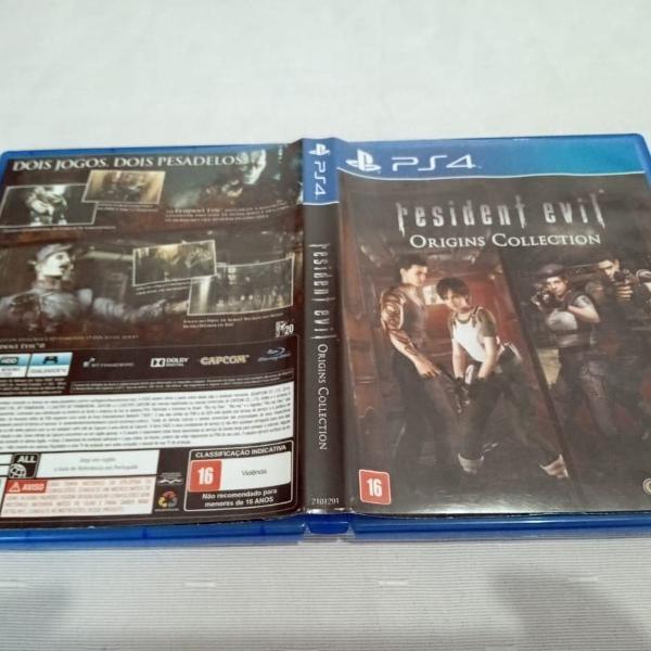 Resident evil origins collection usado play4 a1##b