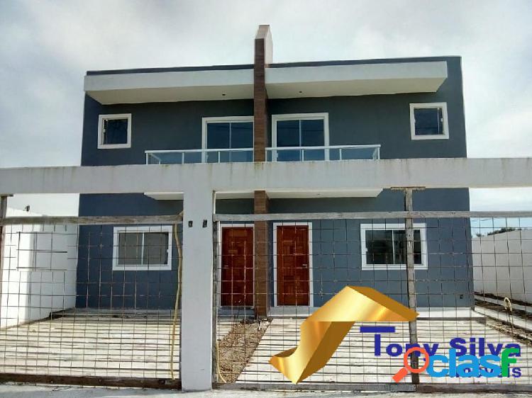 Casa duplex independente 2 suítes na vila do peró cabo frio