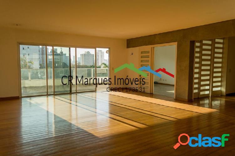 Apartamento com 4 quartos à venda, 333 m² no campo belo do lado do vértice!