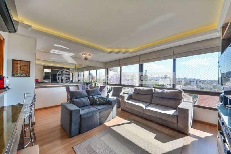Apartamento semimobiliado, 2 dormitórios, suíte, 2 vagas,