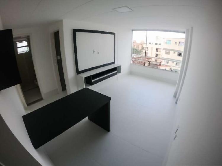 Apartamento para venda com 2 quartos em praia do morro -