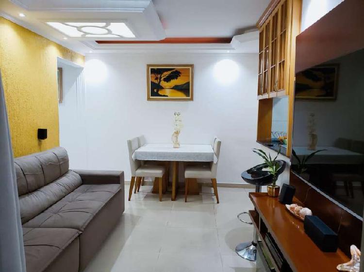 Apartamento para venda possui 61 m² com 3 quartos 1 vg em