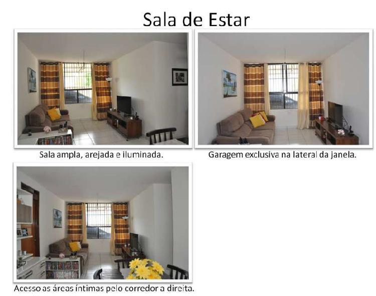Apartamento para venda tem 73 metros quadrados com 2 quartos
