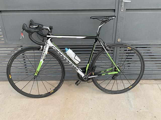 Bicicleta speed cannondale supersix evo hi-mod