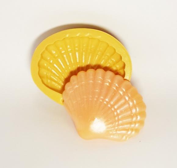 Concha Pérola - molde de silicone