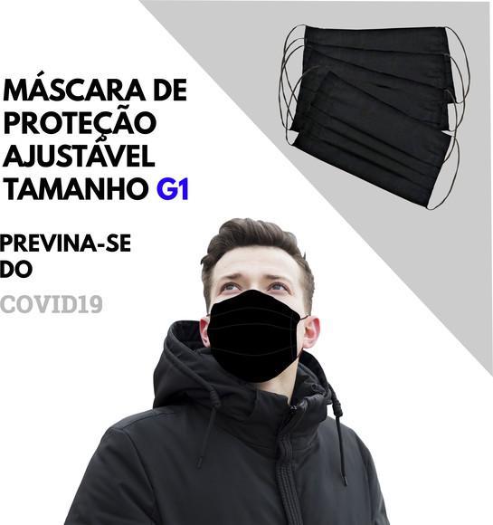 Mascara de tecido tamanho grande (extragrande) g1