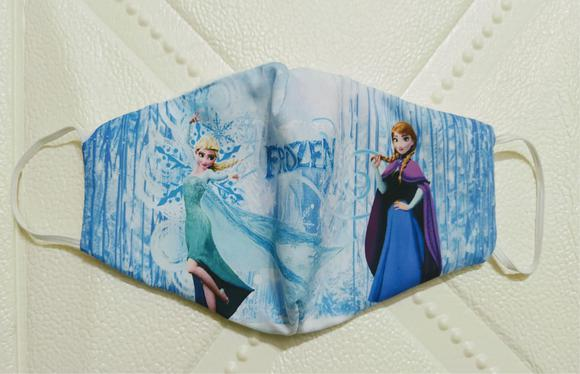 Máscara de proteção frozen