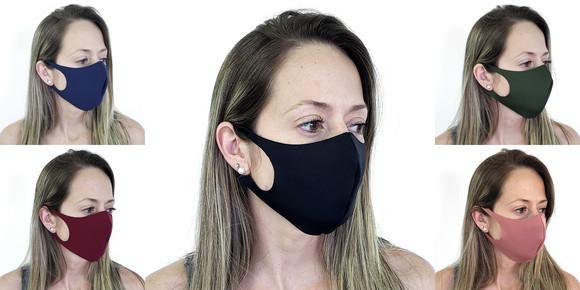 Mascara de protecão tecido neopreme reutilizável