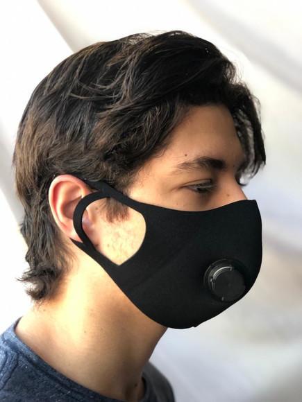 Mascara de proteção lavavel em neoprene com respirador
