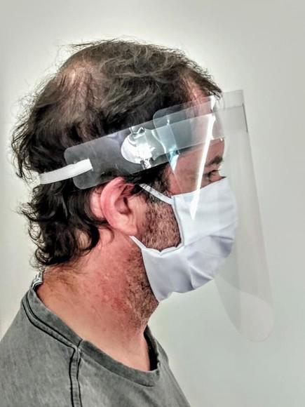 Máscara de Proteção Facial de Acetato