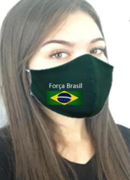 Máscara de proteção respiratória do brasil