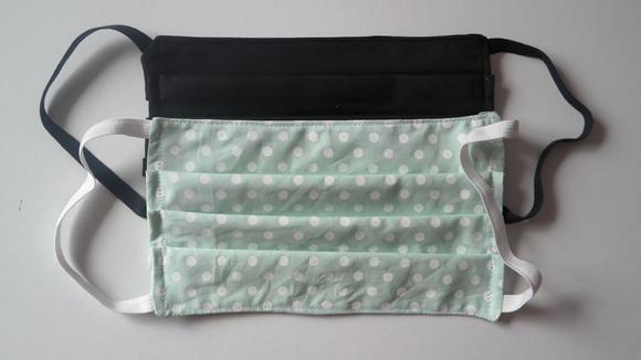 Máscara de tecido lavável tripla proteção 3 camadas