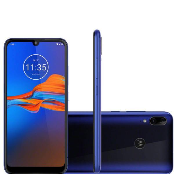 "Smartphone Motorola E6S 6,1"" 4GB Ram 64GB Memória Octa-Core"