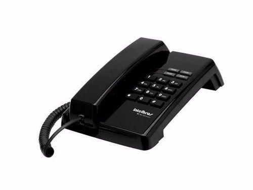 Telefone com fio tc50 premium preto /u00c1rtico - intelbras
