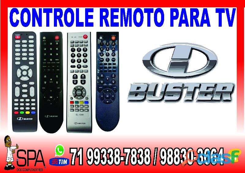 Controle remoto tv lcd buster em salvador ba