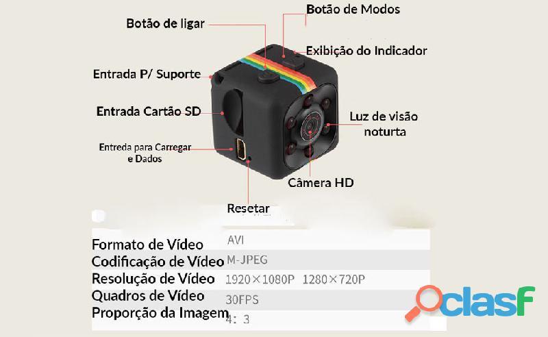 Mini Câmera Espiã 7000 1