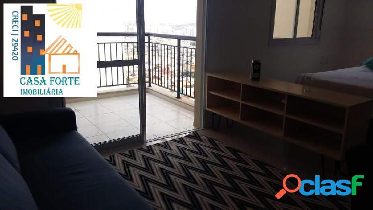 Apartamento studio, guarulhos cidade maia mobiliado r$ 2.500