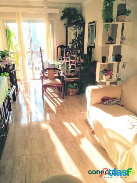 Apartamento de 61 m², 2 dormitórios, 2 banheiros e 1 vaga em moema