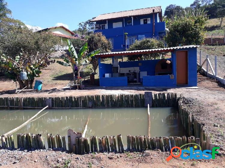 Chácara para temporada em paraisópolis - mg