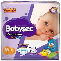 Amazon Prime] Fraldas descartáveis Babysec Premium Galinha