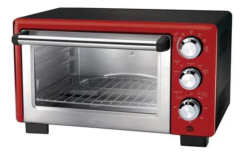 Forno elétrico 18 litros oster convection cook vermelho