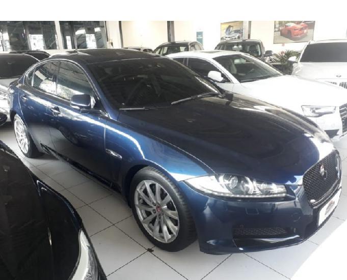 Jaguar xf 2.0 luxury turbocharged gas 4p aut azul 2015