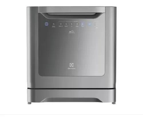 Lava-louças electrolux 8 serviços cinza le08s -