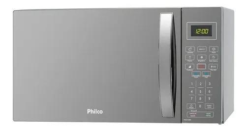 Micro-ondas de bancada philco espelhado 32l 220v pmo33e