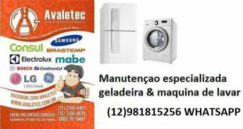 Tecnico maquina de lavar roupa geladeira taubate
