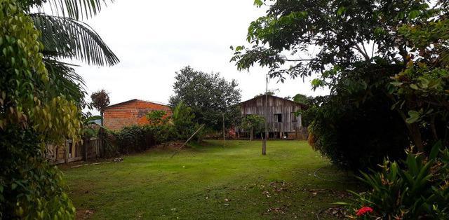 Terreno com casa em vila acre, rio branco - mgf imóveis