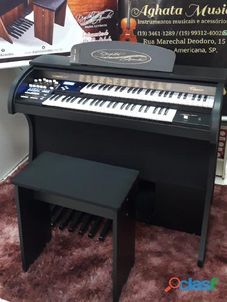 Órgão Eletrônico Digital Acordes Dual Voice Classic Plus