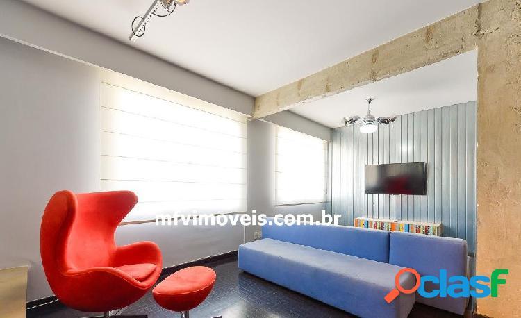 Apartamento totalmente mobiliado para aluguel em pinheiros