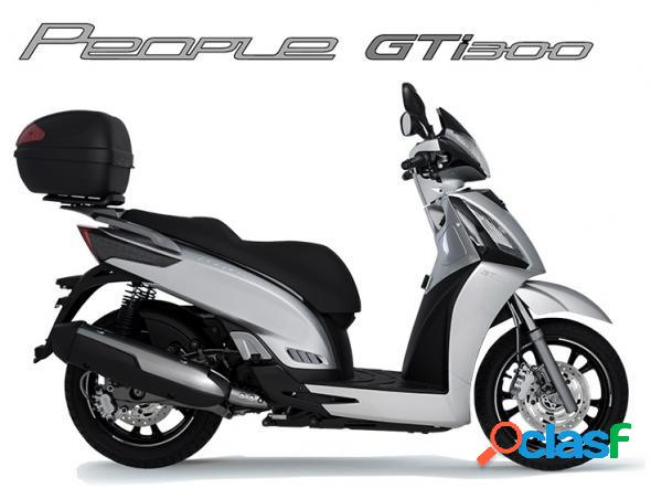 Kymco people gti 300 branco 2019 300 gasolina