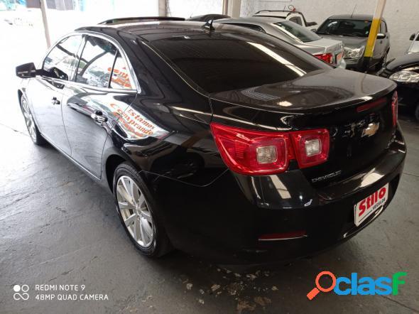 Chevrolet malibu ltz 2.4 16v 171cv 4p preto 2013 2.4 gasolina