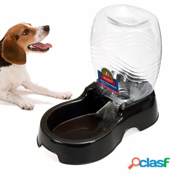 946ml pet dog cat grande distribuidor automático de bebidas de irrigação alimentador alimentador de tigela para pratos