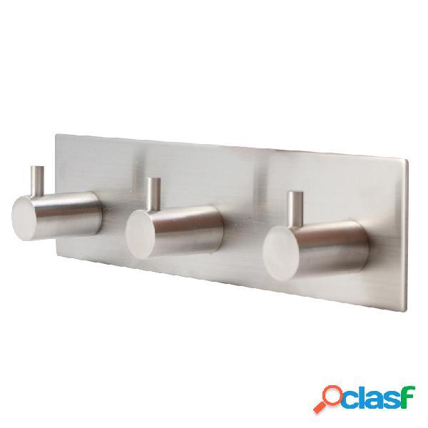 Ganchos de aço inoxidável adesivo de parede porta roupa cabide chapéu hanger cozinha banheiro rustpro