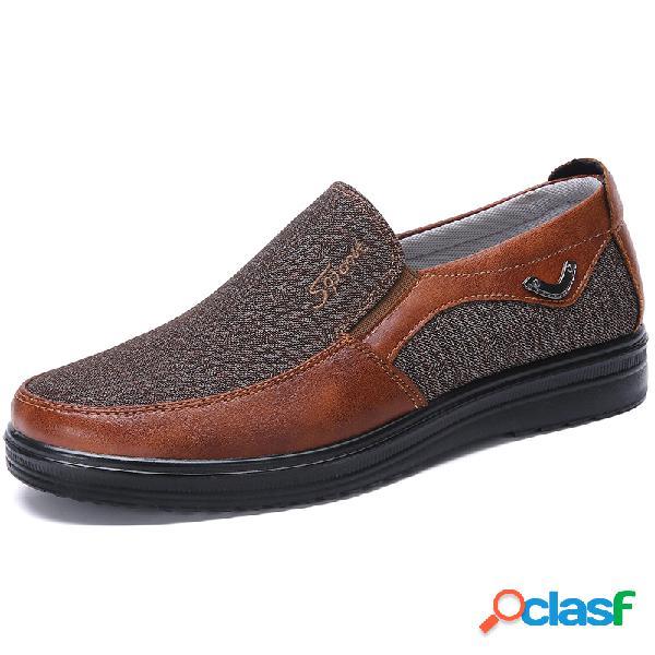 Old beijing calçados casuais de tecido tamanho grande