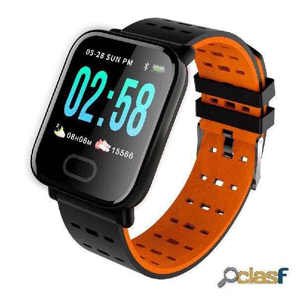 Monitor de atividade relógio sono hr monitor de oxigênio pressão arterial ip67 câmera à prova d 'água smart watch