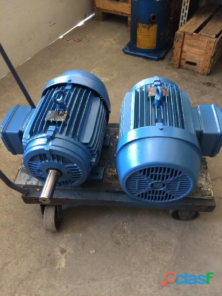 Motor weg 12,5 cv 1100 rpm 6 pólos trifásico