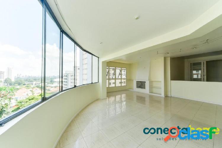 Apartamento de 210 m², 3 suítes e 4 vagas no paraíso