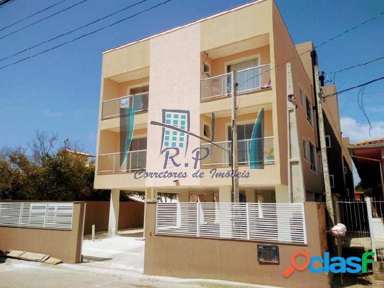 Apartamento com 2 dorms em florianópolis - ingleses do rio vermelho por 160 mil à venda