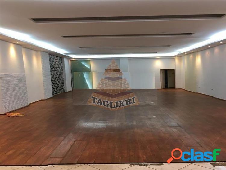 Salão comercial 130 mts prox. metro carrao