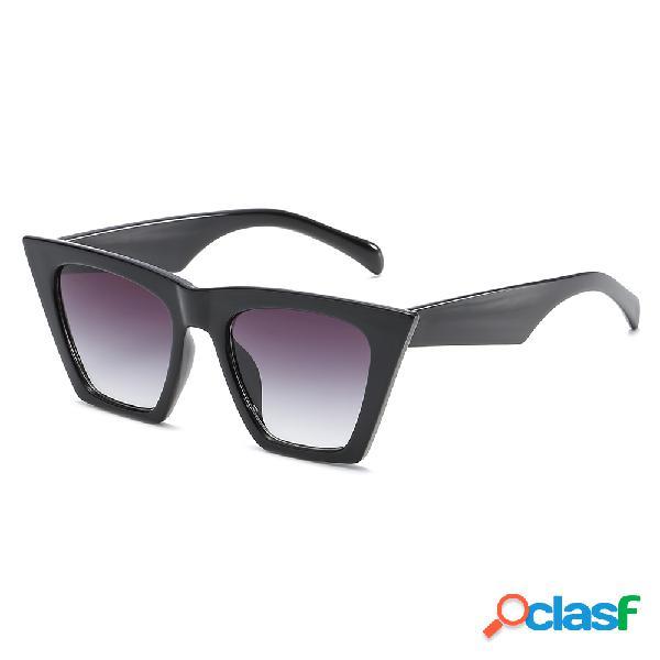 Óculos do sol cores de verão olho de gato outdoor casual anti-uv óculos para mulheres