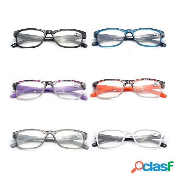 Óculos de leitura classe a distância de corte de alta definição len commerce óculos de leitura unisex eyecare